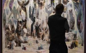 Эдвард Беккерман в Московском музее современного искусства