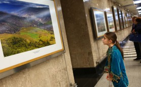 Начала работу фотовыставка «Дагестан с высоты птичьего полета»