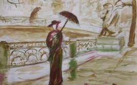 В Петербурге открылась выставка слепых художников