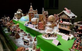 В Швеции проходит выставка пряничных домиков