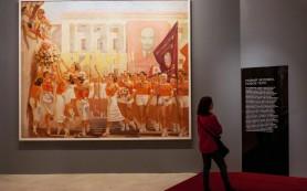 В Манеже открылась выставка советской живописи 20-40-х годов прошлого века