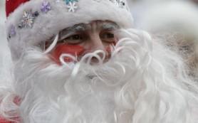 Парад русских Дедов Морозов и Снегурочек прошел в Нью-Йорке