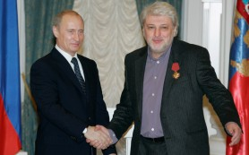 Путин поздравил Вячеслава Добрынина с 70-летним юбилеем