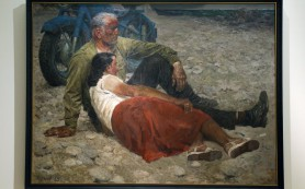Первая большая выставка Гелия Коржева открылась в Третьяковке