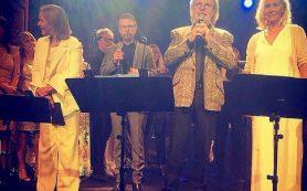 Группа ABBA впервые за 34 года дала концерт