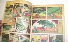 Первый выпуск комикса о Супермене продан на аукционе в США за почти $1 млн