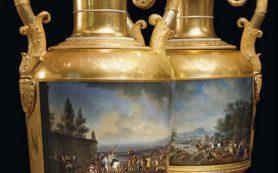 В Великобритании на аукцион выставлен сервиз супруги Николая II