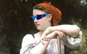 Шишкин носит Prada: блогер добавляет предметы масскульта на шедевры музеев