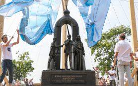 В Суздале открылся памятник Андрею Тарковскому