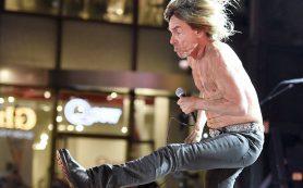 «Крестный дедушка панк-рока» Игги Поп выступит в Москве