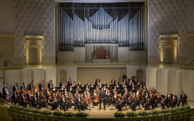 Госоркестр имени Светланова и Борис Березовский дали концерт в Доме музыки