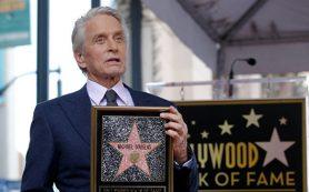 Майкл Дуглас удостоился звезды на «Аллее славы» в Голливуде