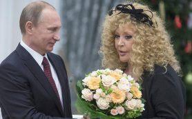 Путин поздравил Пугачеву с юбилеем
