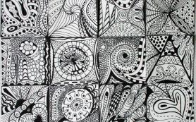 Зентангл: искусство рисовать каракули