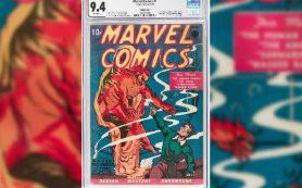 Первый номер комиксов Marvel продали в США за $1,26 млн