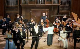 Барокковый концерт: зачем МАМТ поднял оркестрантов из ямы