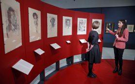 В Музее русского импрессионизма открылась выставка Юрия Анненкова