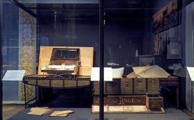 В Эрмитаже показали дорожный сундук Александра III