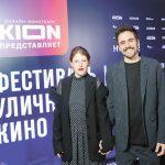 Оксана Акиньшина и Варвара Шмыкова открыли фестиваль уличного кино