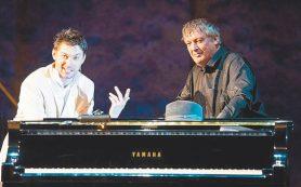 Выдающийся пианист Борис Березовский дебютировал на сцене Малого театра