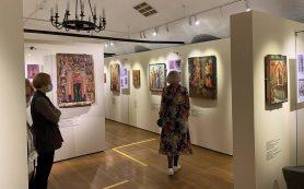 Более 50 древних икон, отреставрированных за 25 лет, представили в музее Андрея Рублева