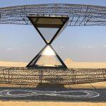 На плато Гиза в Каире открывается выставка современного искусства